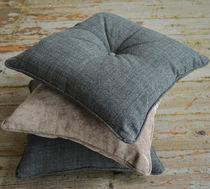 Cojín para sofá / para silla / cuadrado / de lana