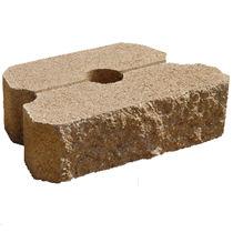 Bloque de piedra superficial / para muro de carga