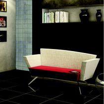Sofá moderno / de tela / para edificio público / para hotel
