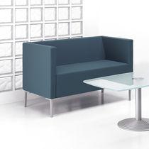 Sofá moderno / de tejido / de aluminio fundido / profesional