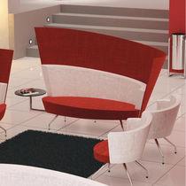 Sofá moderno / de tela / profesional / para edificio público