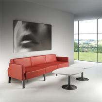 Sofá modular / moderno / de tela / de metal