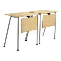 Mesa para la enseñanza moderna / de metal / de MDF / rectangular
