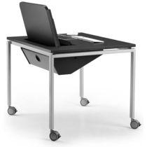 Mesa para la enseñanza moderna / de metal / de MDF / de haya