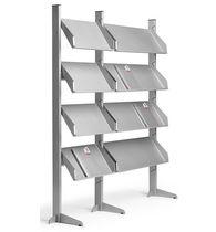 Revistero moderno / para uso residencial / profesional / de metal