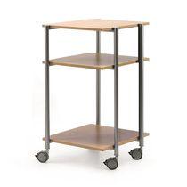 Mesa carrito de oficina / de metal / para oficina / profesional