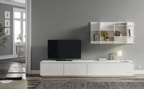Mueble TV moderno / de MDF lacado