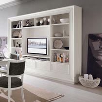 Mueble TV clásico / de madera lacada