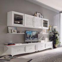 Mueble TV de estilo / de madera lacada