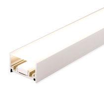 Perfil de iluminación empotrable / de suelo / LED / sistema de iluminación modular
