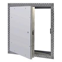 Trampilla de inspección para pared / cuadrada / antiincendios / de metal