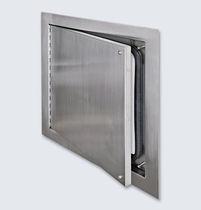 Trampilla de inspección para pared / cuadrada / de acero inoxidable