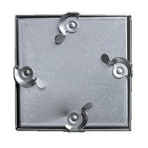 Trampilla de inspección para pared / cuadrada / de aluminio