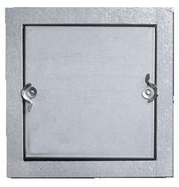 Trampilla de inspección para pared / cuadrada / de acero galvanizado