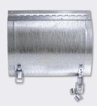 Trampilla de inspección para pared / circular / de acero galvanizado