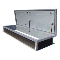 Trampilla de inspección para techo / rectangular / de acero galvanizado