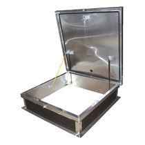 Trampilla de inspección para techo / cuadrada / de metal