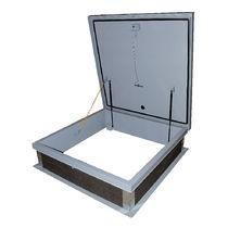 Trampilla de inspección para techo / cuadrada / de acero galvanizado