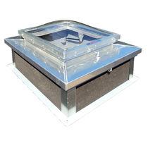 Trampilla de inspección para techo / cuadrada / de aluminio