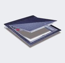 Trampilla de inspección para pavimento / cuadrada / rectangular / de aluminio