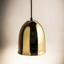 Lámpara suspendida / moderna / de latón / de interior