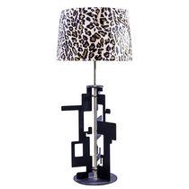 Lámpara de mesa / moderna / de latón / de acero