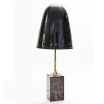 Lámpara de mesa / de diseño original / de aluminio / de mármol