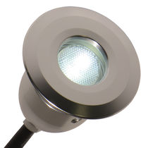 Luminaria empotrable / LED / redonda / de exterior