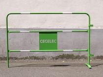 Barrera de protección / de acero / para obra