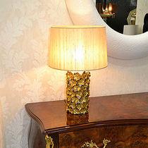 Lámpara de mesa / clásica / de latón / de interior