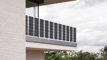 Módulo fotovoltaico monocristalino / flexible / BIPV / para balcón