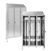 Taquilla de vestuario de metal / para edificio público / para instalación deportiva / para oficina