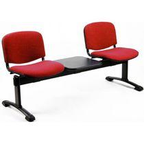 Hileras de sillas de metal / 3 plazas / de interior