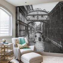 Papeles pintados modernos / de tela / de vinilo / con motivos urbanos