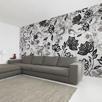 Papeles pintados modernos / de tela / de vinilo / con motivos florales