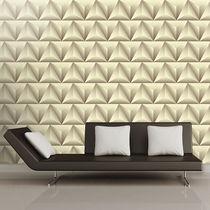 Papeles pintados modernos / de tela / de vinilo / con motivos geométricos