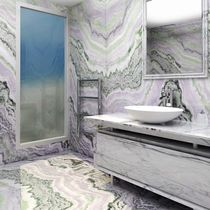 Baldosa de pared / para pavimento / de mármol / de piedra natural