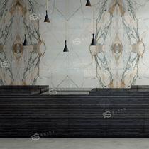 Baldosa de pared / de mármol / con motivos / de gran formato