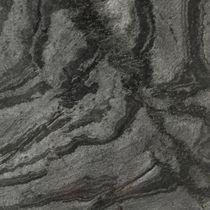 Placa de piedra de cuarcita / pulida / cepillada / para pavimento