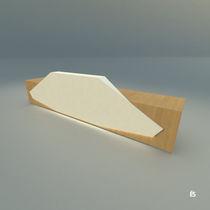 Mostrador de recepción modular / de madera / laminado / de mineral compuesto