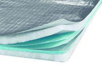 Aislante térmico / de guata de celulosa / para tejado / para desván