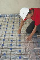 Aislante termoacústico / de polietileno / para calefacción por suelo radiante / en rollo