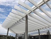 Panel de construcción / de aluminio / de material compuesto / para exteriores