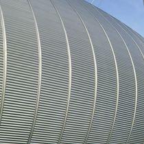Chapa ondulada / de acero / para revestimiento / de cubiertas