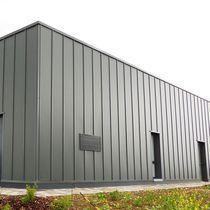 Revestimiento de fachada de acero / de acero inoxidable / de aluminio prelacado / prelacado