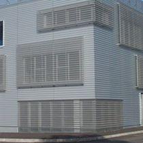 Revestimiento de fachada de acero / de acero galvanizado / de zinc-aluminio / de aluminio prelacado