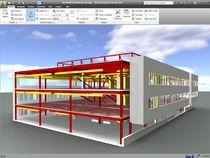 Programa de simulación de proyectos / de arquitectura / para estructura de acero / 3D