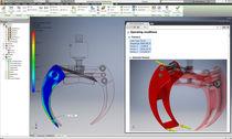 Programa de gestión de datos / de análisis / de modelado / de CAD