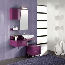 Baldosa para baño / de pared / de gres porcelánico / de color liso