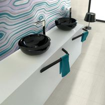 Baldosa para baño / de suelo / de gres porcelánico / de rayas